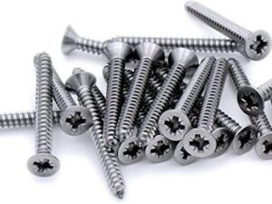 COUNTERSUNK POZI AB SELF TAPPING SCREWS DIN7982C