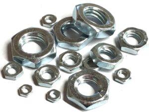 HEXAGON LOCK NUTS (HALF NUTS) DIN439B