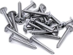 POZI FLANGED AB SELF TAPPING SCREWS DIN4174