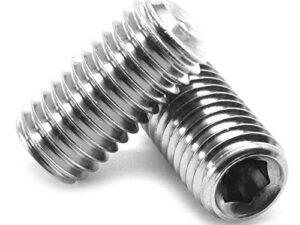 Socket Sets (Plain Cup Point) Zinc Plated 14.9 Grade DIN916